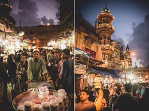 بمبئی در ماه مبارک رمضان به یک جشنواره غذایی شبانه تبدیل شده است + تصاویر
