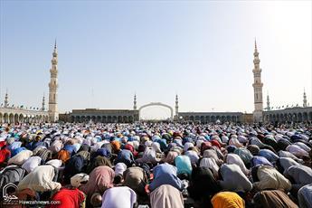 نماز عید فطر در مسجد مقدس جمکران اقامه میشود