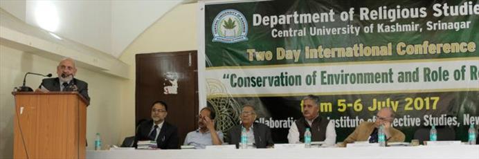 همایش بینالمللی «حفظ محیط زیست و نقش دین» در کشمیر برگزار شد