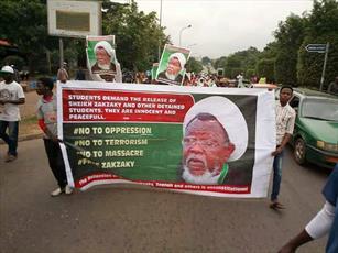 مردم نیجریه خواستار آزادی شیخ زکزاکی شدند+ تصاویر