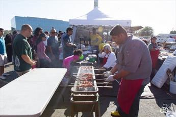 جشنواره دو روزه غذای حلال در ایلینوی آمریکا برگزار میشود