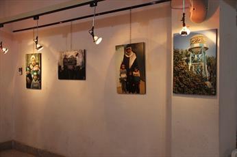 نمایشگاه عکس فعالیت های تبلیغی روحانیون قزوین برپا شد