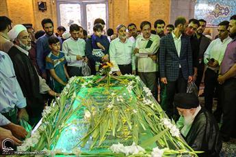 تصاویر/ مراسم بزرگداشت آیت الله العظمی بروجردی در مسجد اعظم قم