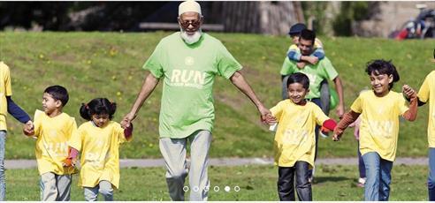 مسابقه «دو خیریه مسلمانان» در شهر لندن برگزار میشود