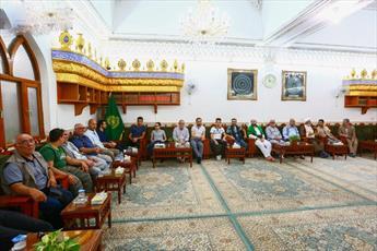 حضور جمعی از شیعیان ترکیه در حرم  امیرالمؤمنین(ع)