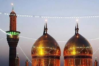 حرم مطهر کاظمین(ع) سیاهپوش شد + تصاویر