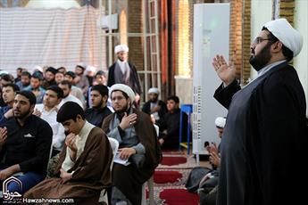 برپایی خیمه عزای صادق آل محمد(ص) در حوزه علمیه اهواز