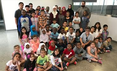 پیوند هویت اسلامی و هویت شهروندی در اردوی جوانان کانادایی +تصاویر