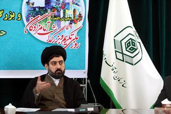 ۴۰۰مبلغ به مناطق مختلف قم اعزام شده اند/طرح جامع ده امامزاده به تصویب رسیده است
