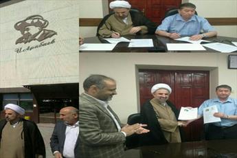 امضای تفاهمنامه همکاری میان دانشگاه مذاهب اسلامی و دانشگاه آرابایف قرقیزستان