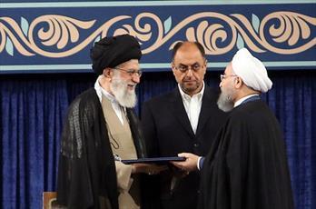 رهبر معظم انقلاب حکم  رئیس جمهور دوازدهم را تنفیذ کردند+ متن حکم