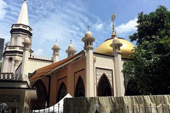 مسجد «حاجه فاطمه» در سنگاپور که به نام یک زن نامگذاری شده