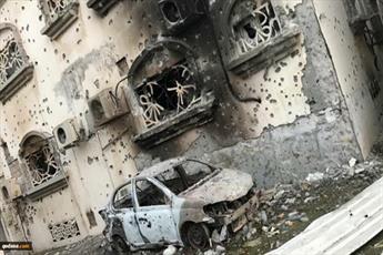 تصاویر جنایت های آل سعود در عوامیه