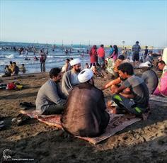 تقدیر امام جمعه بابل از فعالیت مبلغان جهادی در سواحل دریا