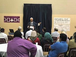 مسلمانان کانادایی در «روز دعای ملی» بزرگان قبایل بومی شرکت کردند