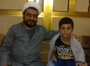 عکس/ سلفی با علی خامنهای در عراق!