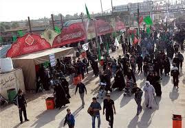 برپایی غرفه طب اسلامی در موکب های خراسان شمالی در روز اربعین