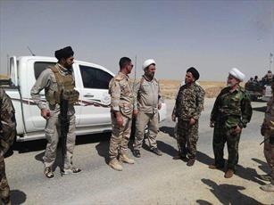 طلاب نجف اشرف از مناطق جنگی تلعفر بازدید کردند