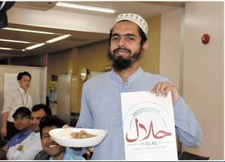 دانشگاهی در ژاپن غذی حلال به منوی غذای دانشجویی اضافه می کند