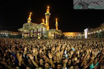 گزارش تصویری از مراسم شهادت امام جواد (ع) در حرم امامین کاظمین (ع)