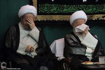 تصاویر/ مراسم عزاداری شهادت امام جواد(ع) در بیوت مراجع و علما -۲
