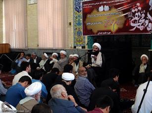 عزاداری شهادت امام جواد(ع) در حوزه  همدان  به روایت تصویر