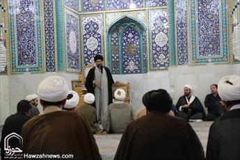تصاویر/ گردهمایی ائمه جماعات  اصفهان در روز شهادت خورشید نهم