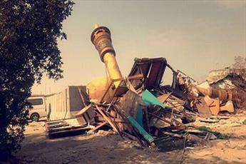 کمک رسانی به آسیب دیدگان ممنوع است /تخریب اماکن مذهبی شیعیان از سوی آل سعود