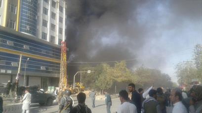 فوری/ حمله ی تروریستی به مسجد امام زمان(ع) در کابل +تصاویر