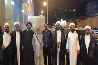اعضای جنبش امل لبنان از بعثه آیات عظام سیستانی و حکیم در مکه بازدید کردند