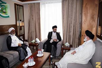 رئیس بعثه مجلس اعلای اسلامی عراق با سرپرست حجاج ايرانی کرد