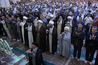 تصاویر/ نماز عید قربان در حرم حضرت معصومه(س)