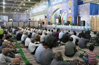 تصاویر/ اقامه نماز عید قربان در کاشان