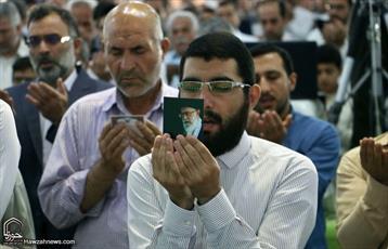 نماز عید سعید فطر در حرم مسجد مقدس جمکران اقامه شد