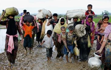 بوداییان افراطی خانههای مسلمانان روهینگیایی را ویران کردند
