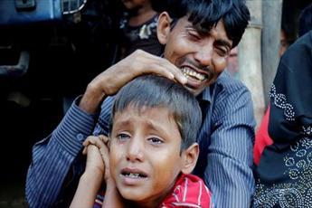 سکوت جامعه بین الملل در برابر جنایت علیه مسلمانان  مشکوک است