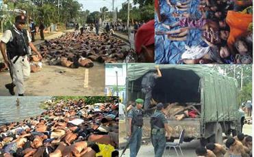 سکوت مجامع بینالمللی در مقابل کشتار مسلمانان میانمار تأسفبار است