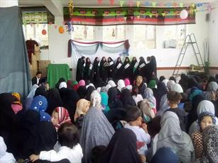 برپایی عید ولایت در دارالقرآن زینب کبری(س) افغانستان