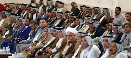 سید عمار حکیم:  عشائر عراق باید از بازی های سیاسی فاصله بگیرند