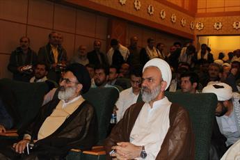 تصاویر/ نشست رئیس شورای سیاست گذاری ائمه جمعه با مسئولان ستاد های نماز جمعه در همدان