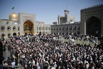 تصاویر/ مراسم تشییع مرحوم آیت الله معصومی(ره) در مشهد