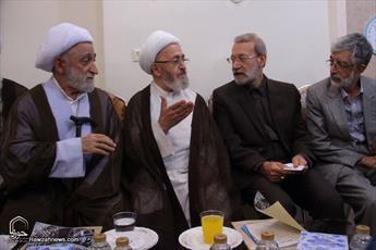 تصاویر/ افتتاح کتابخانه زبانهای خارجی و منابع اسلامی در قم