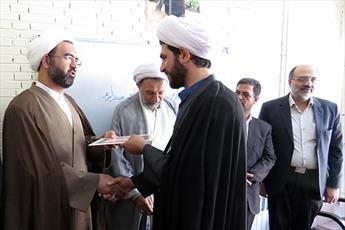 مدیر جدید مدرسه علمیه امام صادق(ع) مهریز معرفی شد