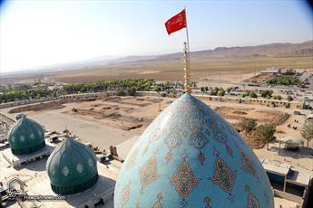 آغاز به کار موزه دین و دنیا در مسجد مقدس جمکران با حضور آیت الله نوری همدانی