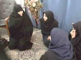 مدرسه علمیه فاطمیه الیگودرز میزبان بانوان عزادار حسینی