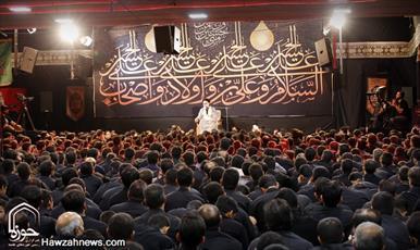 تصاویر/ سوگواری عزاداران حسینی در اصفهان