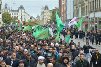 راهپیمایی بزرگ عاشورایی در دانمارک برگزار میشود