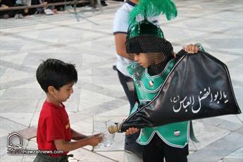 تصاویر/ مراسم عزاداری تاسوعای حسینی در  آستان مقدس حضرت هلال بن علی(ع)