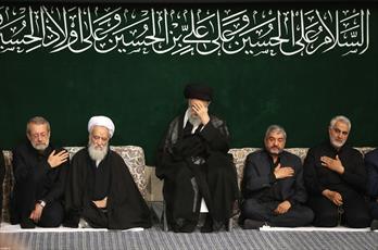 مراسم عزاداری شب عاشورای حسینی علیهالسلام برگزار شد