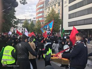 تصاویر/ عزاداران حسینی در شهر اسلو نروژ